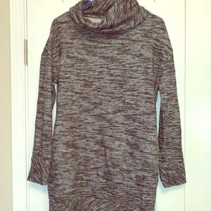 Workout tunic coverup gray running jacket yoga